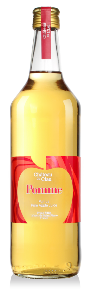 Pure Juice Apple fruit juice natural high-end natural Château du Clau