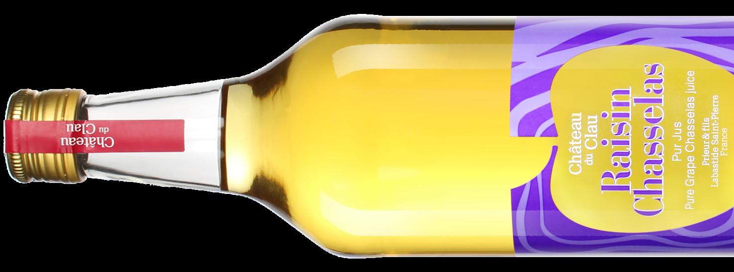Pure Juice Chasselas Grape Premium natural fruit juice Chateau du Clau HD