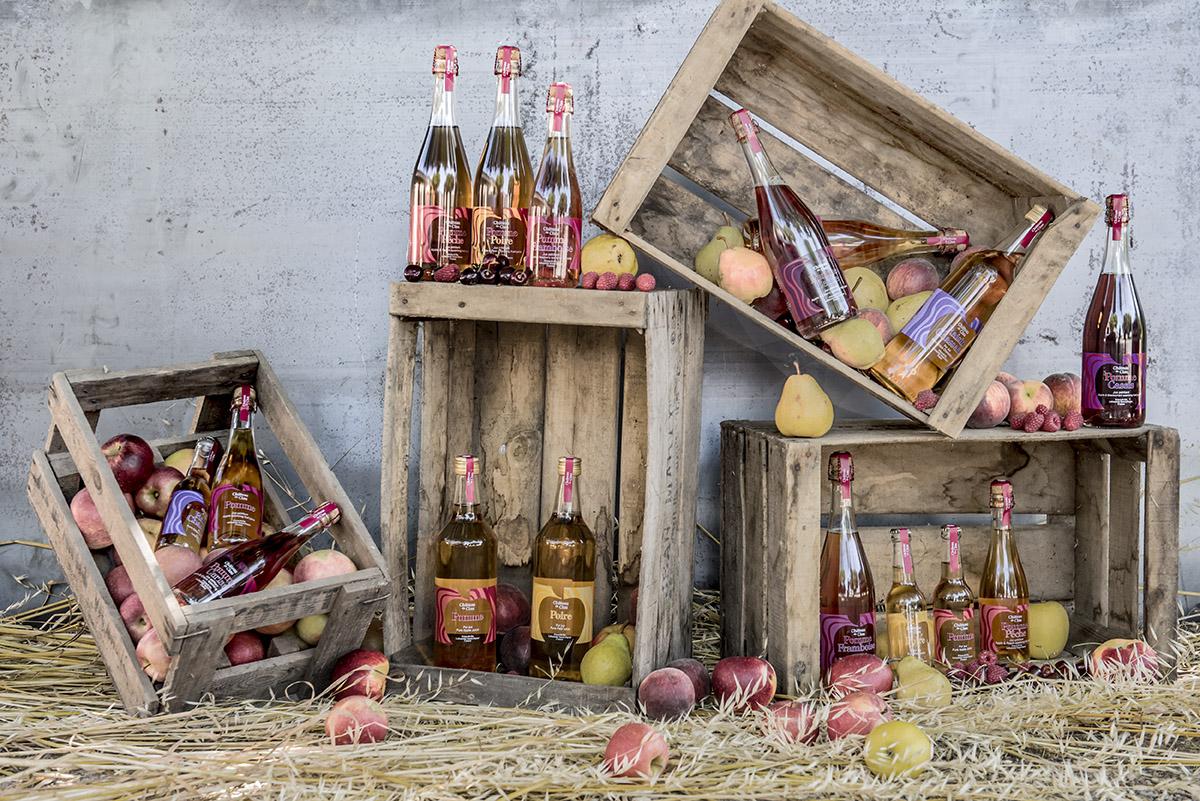 Jus de Fruit artisanal haut de gamme naturel Chateau du Clau Collection